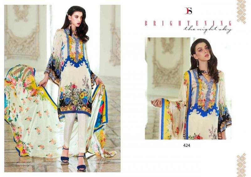 Gosiya Exports Deepsy Elan Vol 10 Satin Silk Digital Printed Embroidery Pakistani Dress Materials Wholesale Dealer Best Rate By Gosiya Exports Surat