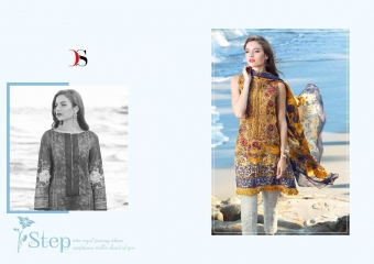 DEEPSY FLORENT 14 PURE COTTON WITH EMBRODIERY WHOLESALE RATE AT GOSIYA EXPORTS SURAT WHOLESALE SUPPLAYER AND DEALER SURAT GUJARAT (4)