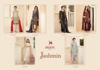DEEPSY JASHMIN CATALOG GEORGETTE EMBROIDERED PAKISTANI STYLE WHOLESALE SUPPLIER BEST RATE BY GOSIYA EXPORTS SURAT (8)