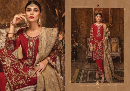DEEPSY SUIT GULBANO VOL 16 GEORGETTE 231-236 SERIES PAKISTANI SUIT CLOTHING STORE WHOLESALE DEALER BEST RATE BY GOSIYA  (15)