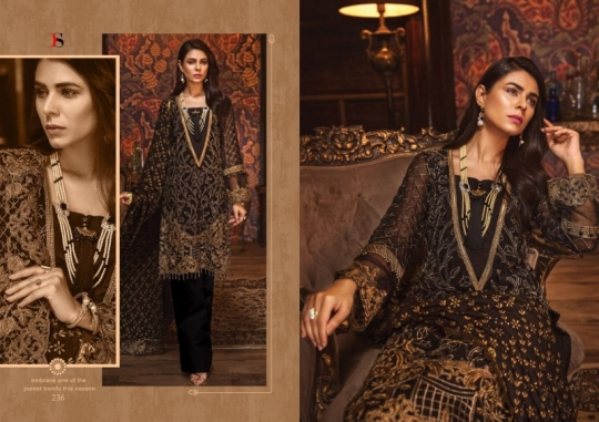 DEEPSY SUIT GULBANO VOL 16 GEORGETTE 231-236 SERIES PAKISTANI SUIT CLOTHING STORE WHOLESALE DEALER BEST RATE BY GOSIYA  (9)