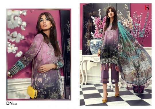 DEEPSY SUIT PRESENTS MPRINT 19 COTTON FABRIC WITH EMBROIDERY WORK SALWAR SUIT WHOLESALE DEALER BEST RATE BY GOSIYA E