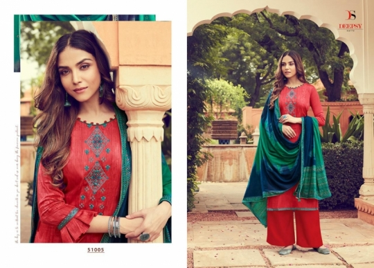 DEEPSY SUIT PRESENTS PANGHAT VOL 6 JAM SILK FABRIC PAKISTANI COLLETION SUIT WHOLESALE DEALER BEST RATE BY GOSIYA EXPORTS SURAT (1)