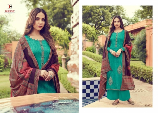 DEEPSY SUIT PRESENTS PANGHAT VOL 6 JAM SILK FABRIC PAKISTANI COLLETION SUIT WHOLESALE DEALER BEST RATE BY GOSIYA EXPORTS SURAT (9)