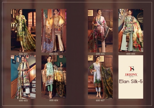 DEEPSY SUITS ELAN SILK VOL 5  (7)