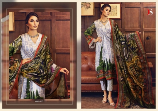 DEEPSY SUITS ELAN SILK VOL 5  (8)
