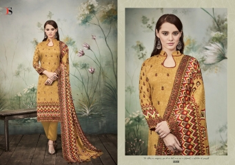 DEEPSY SUITS FLORENT 16 PURE PASHMINA PRINTS WITH SELF EMBROIDERED SUITS WHOLESALE DEALER BEST RATE BY GOSIYA EXPORTS (8)