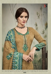 DEEPSY SUITS FLORENT 16 PURE PASHMINA PRINTS WITH SELF EMBROIDERED SUITS WHOLESALE DEALER BEST RATE BY GOSIYA EXPORTS