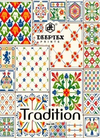 DEEPTEX TRADINION VOL 5 COTTON FABRIC DRESS MATERILAS WHOLESALE DEALER BEST RATE BY GOSIYA EXPORTS SURAT (1)