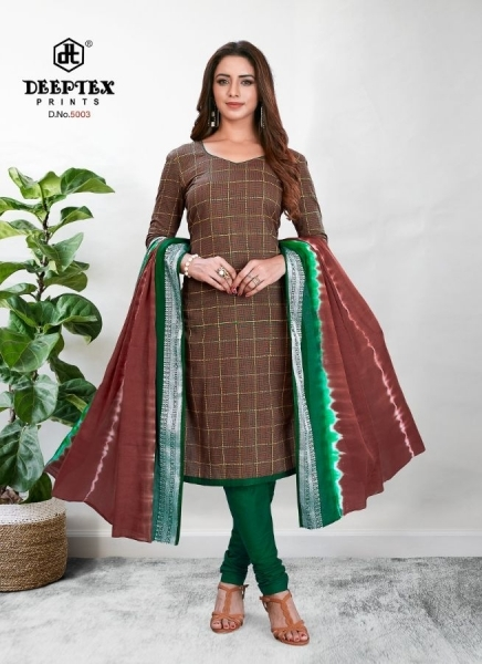 DEEPTEX TRADINION VOL 5 COTTON FABRIC DRESS MATERILAS WHOLESALE DEALER BEST RATE BY GOSIYA EXPORTS SURAT (5)