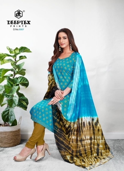 DEEPTEX TRADINION VOL 5 COTTON FABRIC DRESS MATERILAS WHOLESALE DEALER BEST RATE BY GOSIYA EXPORTS SURAT (8)