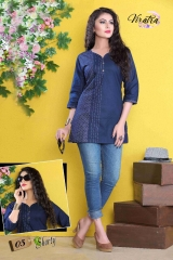 Denim kurti series SHORTY-1 Denim Wash stylist petern WHOLESALE BEST RATE BY GOSIYA EXPORTS SURAT (4)