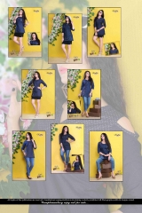 Denim kurti series SHORTY-1 Denim Wash stylist petern WHOLESALE BEST RATE BY GOSIYA EXPORTS SURAT (5)