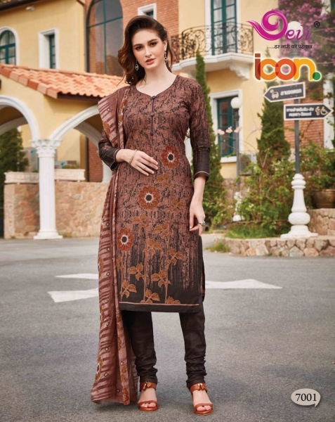 DEVI PRESENTS ICON VOL 7 COTTON FABRIC DRESS MATERIAL AT WHOLESALE DEALER BEST RATE BY GOSIYA EXPORTS SURAT (10)