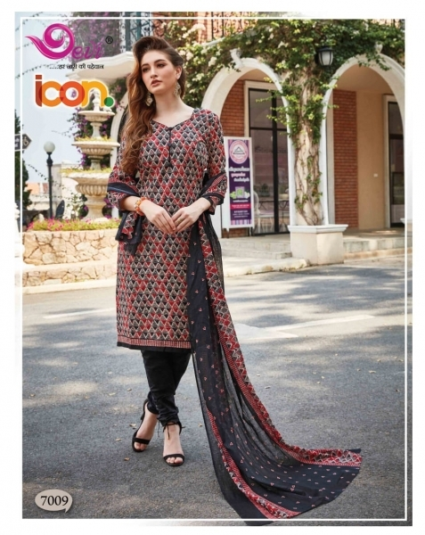DEVI PRESENTS ICON VOL 7 COTTON FABRIC DRESS MATERIAL AT WHOLESALE DEALER BEST RATE BY GOSIYA EXPORTS SURAT (13)