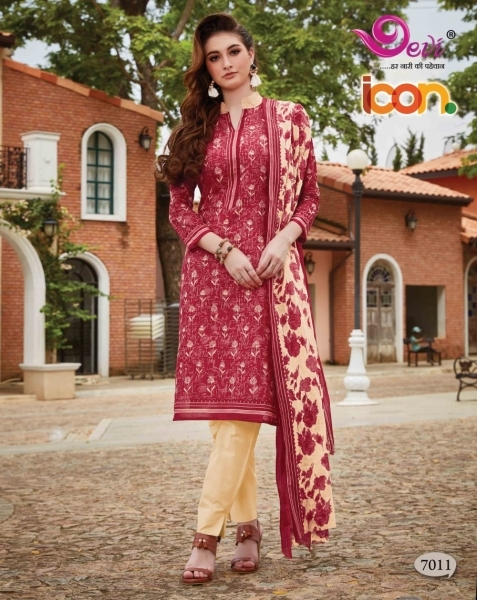 DEVI PRESENTS ICON VOL 7 COTTON FABRIC DRESS MATERIAL AT WHOLESALE DEALER BEST RATE BY GOSIYA EXPORTS SURAT (7)