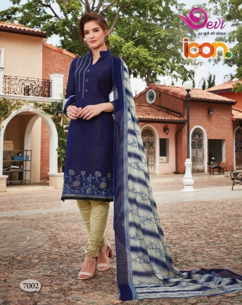 DEVI PRESENTS ICON VOL 7 COTTON FABRIC DRESS MATERIAL AT WHOLESALE DEALER BEST RATE BY GOSIYA EXPORTS SURAT (8)