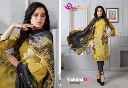 DEVI PRESENTS SHAYONA VOL 11 COTTON FABRIC DRESS MATERIAL AT WHOLESALE DEALER BEST RATE BY GOSIYA EXPORTS SURAT (4)