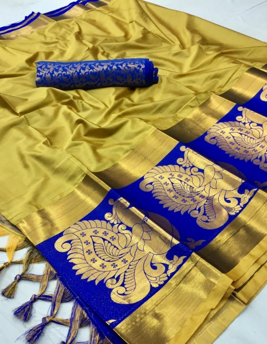 DHEL COTTON PURE SILK SAREE  WHOLESALE  GOSIYA EXPORTS SURAT  (1)