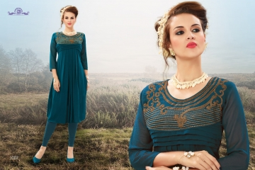 DIVA AKIRA GEORGATE KURTI WHOLESALE PRICE AT GOSIYA EXPORTS SURAT GUJARAT WHOLESALE DEALER (5)