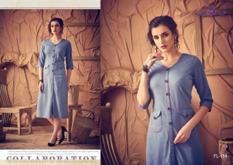 DIVA DESIGN FLASHY VOL 2 CATALOGUE COTTON DENIM STYLES KURTI WHOLESALE BEST RATE BY GOSIYA EXPORTS SURAT (3)