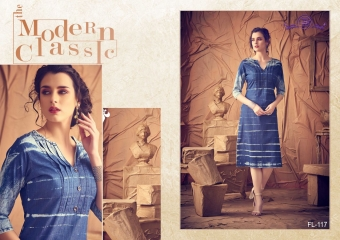 DIVA DESIGN FLASHY VOL 2 CATALOGUE COTTON DENIM STYLES KURTI WHOLESALE BEST RATE BY GOSIYA EXPORTS SURAT (6)
