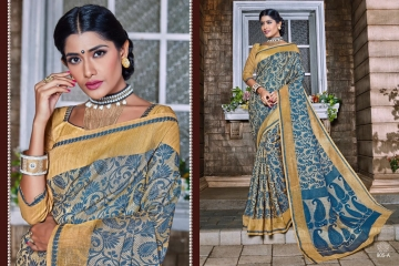 EARTH KASHMIRI STYLE BANARASI SAREES CATALOG COLLECTION WHOLESALER SUPPLIER BEST RATE BY GOSIYA EXPORTS SURAT (1)