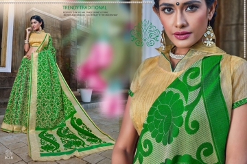 EARTH KASHMIRI STYLE BANARASI SAREES CATALOG COLLECTION WHOLESALER SUPPLIER BEST RATE BY GOSIYA EXPORTS SURAT (12)