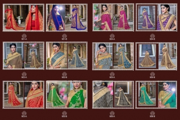 EARTH KASHMIRI STYLE BANARASI SAREES CATALOG COLLECTION WHOLESALER SUPPLIER BEST RATE BY GOSIYA EXPORTS SURAT (13)