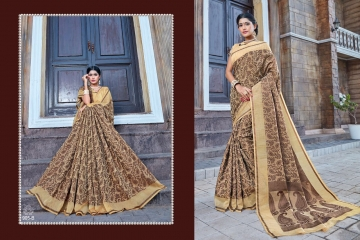 EARTH KASHMIRI STYLE BANARASI SAREES CATALOG COLLECTION WHOLESALER SUPPLIER BEST RATE BY GOSIYA EXPORTS SURAT (2)