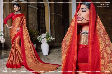 EARTH KASHMIRI STYLE BANARASI SAREES CATALOG COLLECTION WHOLESALER SUPPLIER BEST RATE BY GOSIYA EXPORTS SURAT (5)