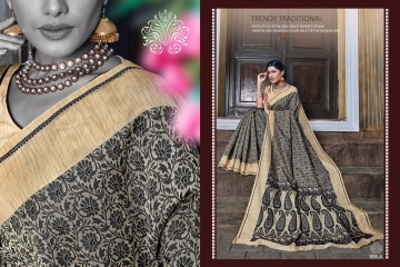 EARTH KASHMIRI STYLE BANARASI SAREES CATALOG COLLECTION WHOLESALER SUPPLIER BEST RATE BY GOSIYA EXPORTS SURAT (7)