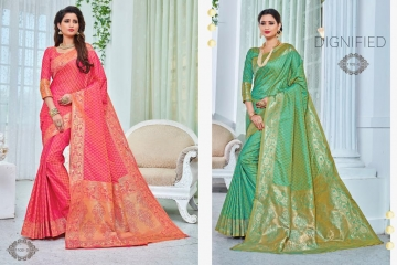 EARTH SAREES APSARA BANARSI PARTY WEAR SAREES COLLECTION WHOLESALE SUPPLIER BEST RATE BY GOSIYA EXPORTS SURAT (10)
