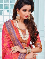 EARTH SAREES APSARA BANARSI PARTY WEAR SAREES COLLECTION WHOLESALE SUPPLIER BEST RATE BY GOSIYA EXPORTS SURAT