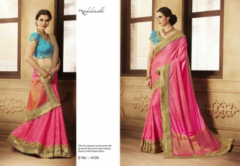 ELEGANCE EMERGE COLLECTION BY NAKKASHI SAREES CATALOG WHOLESALE RATE SUPPLIER DEALER BY GOSIYA EXPORTS SURAT (14)