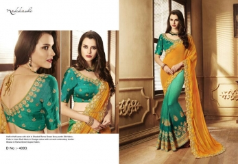 ELEGANCE EMERGE COLLECTION BY NAKKASHI SAREES CATALOG WHOLESALE RATE SUPPLIER DEALER BY GOSIYA EXPORTS SURAT (4)