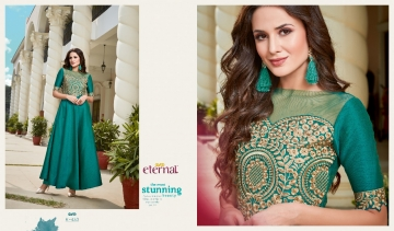 ETERNAL AASHI VOL 3 PREMIUM SILKS SATIN WITH EMBROIDERED GOWN COLLECTION WHOLESALE BEST RATE BY GOSIYA EXPORTS SURAT (2)