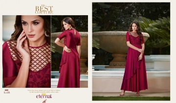 ETERNAL AASHI VOL 3 PREMIUM SILKS SATIN WITH EMBROIDERED GOWN COLLECTION WHOLESALE BEST RATE BY GOSIYA EXPORTS SURAT (5)
