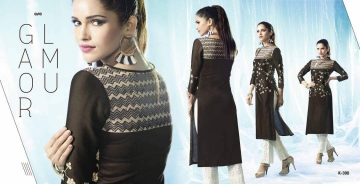 ETERNAL ARTERY DESGINER COTTON LONG KURTI WHOLESALE RATE AT GOSIYA EXPORTS SURAT (10)