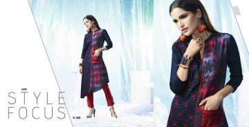 ETERNAL ARTERY DESGINER COTTON LONG KURTI WHOLESALE RATE AT GOSIYA EXPORTS SURAT (12)
