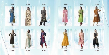 ETERNAL ARTERY DESGINER COTTON LONG KURTI WHOLESALE RATE AT GOSIYA EXPORTS SURAT (3)