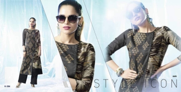 ETERNAL ARTERY DESGINER COTTON LONG KURTI WHOLESALE RATE AT GOSIYA EXPORTS SURAT (6)
