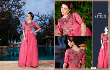 ETERNAL ASHI GOWNS A NEW STYLE WHOLSALE PRICE AT GOSIYA EXPORTS SURAT (1)