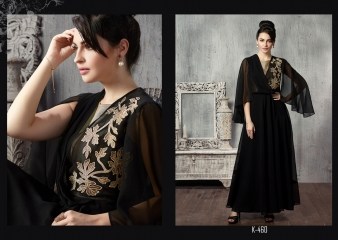 Eternal the blackstage vol 2 lehanga's collection at wholesale DEALER BEST RATE BY GOSIYA EXPORTS SURAT (1)
