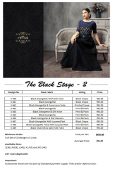 Eternal the blackstage vol 2 lehanga's collection at wholesale DEALER BEST RATE BY GOSIYA EXPORTS SURAT (12)