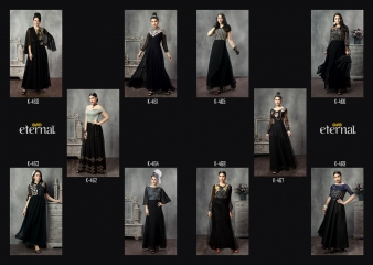 Eternal the blackstage vol 2 lehanga's collection at wholesale DEALER BEST RATE BY GOSIYA EXPORTS SURAT (2)