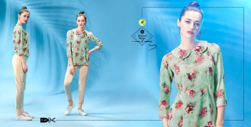 ETERNAL WILD LITTLE EDITION 6 PRINTED SHORT TOPS CATALOG AT BESTRATE BY GOSIYA EXPORTS SURAT (12)