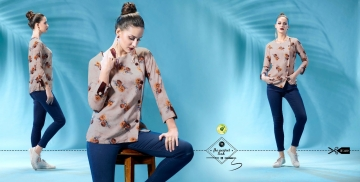 ETERNAL WILD LITTLE EDITION 6 PRINTED SHORT TOPS CATALOG AT BESTRATE BY GOSIYA EXPORTS SURAT (15)