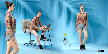 ETERNAL WILD LITTLE EDITION 6 PRINTED SHORT TOPS CATALOG AT BESTRATE BY GOSIYA EXPORTS SURAT (9)