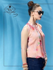 ETERNAL WILD LITTLE EDITION 6 PRINTED SHORT TOPS CATALOG AT BESTRATE BY GOSIYA EXPORTS SURAT